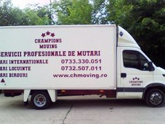 Champions Moving companie de transport mobila